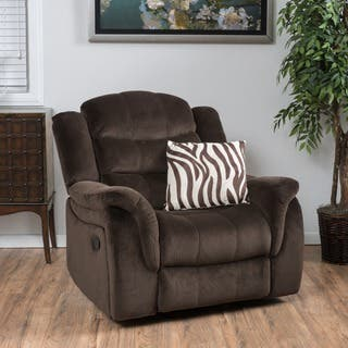 Hawthorne Fabric Glider Recliner Club Chair by Christopher Knight Home|https://ak1.ostkcdn.com/images/products/10673336/P17737632.jpg?impolicy=medium