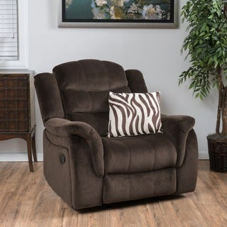 Hawthorne Fabric Glider Recliner Club Chair by Christopher Knight Home (2 options available)