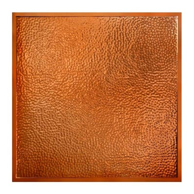 Great Lakes Tin Chicago Copper 2-foot x 2-foot Lay-In Ceiling Tile (5 Pack)