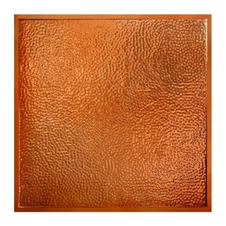 Great Lakes Tin Chicago Copper 2-foot x 2-foot Lay-In Ceiling Tile (Carton of 5)