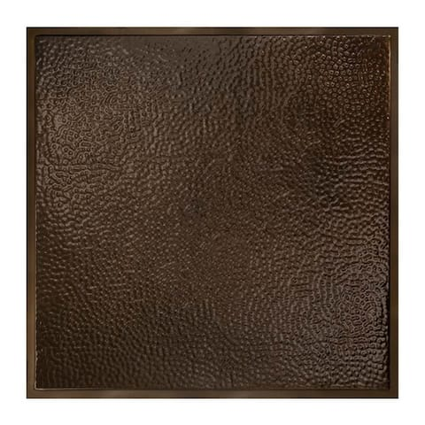Great Lakes Tin Chicago Bronze Burst 2-foot x 2-foot Lay-In Ceiling Tile (5 Pack)