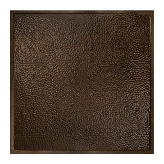 Great Lakes Tin Chicago Bronze Burst 2-foot x 2-foot Lay-In Ceiling Tile (Carton of 5)