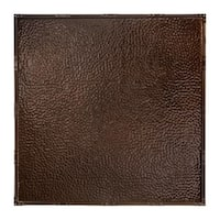 Great Lakes Tin Chicago Bronze Burst 2-foot x 2-foot Nail-Up Ceiling Tile (Carton of 5)