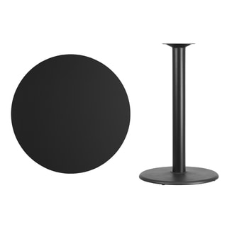 Commercial Round Table Top and Base