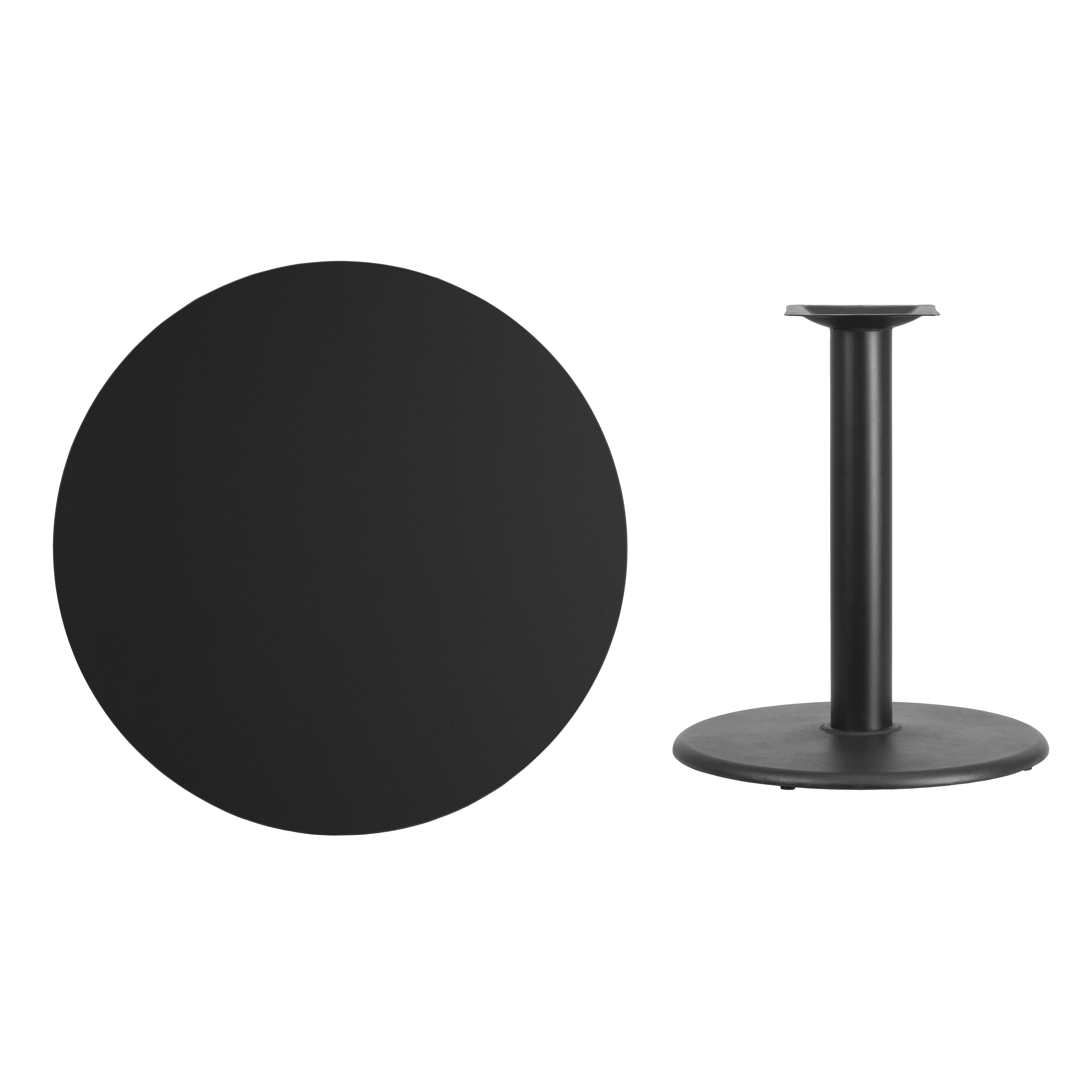 36 Inch Commercial Round Table Top And Base Ebay