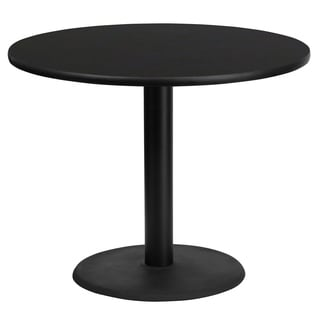 36-inch Commercial Round Table Top and Base
