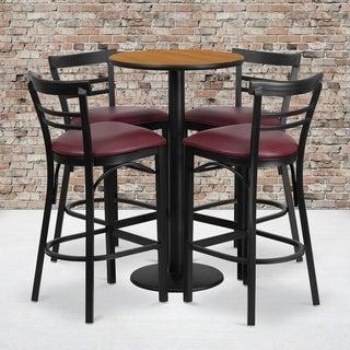 24-inch Natural Laminate Table Set