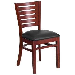 Darby Series Slat Back Wooden Chair