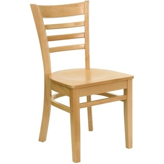 Hercules Series Brown Wooden Restaurant Chair