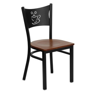 Hercules Series Coffee Back Restaurant Chair