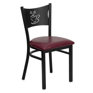 Hercules Series Coffee Back Metal Restaurant Chair