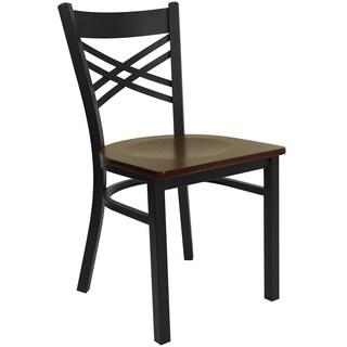 Hercules Series 'X' Back Metal Restaurant Chair