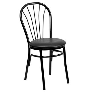 Hercules Series Fan Back Metal Chair