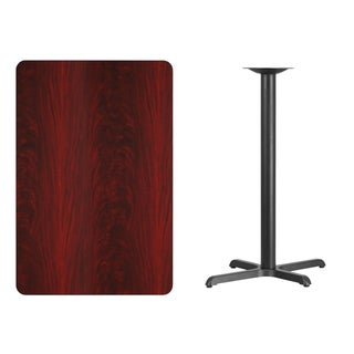 30x45-inch Rectangular Laminate Table Top/Base