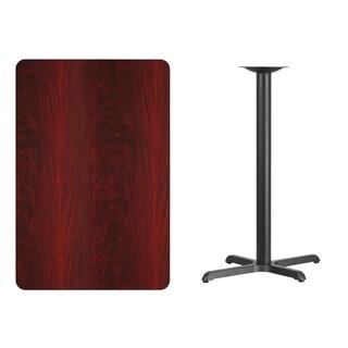 30x45-inch Rectangular Laminate Table Top/Base