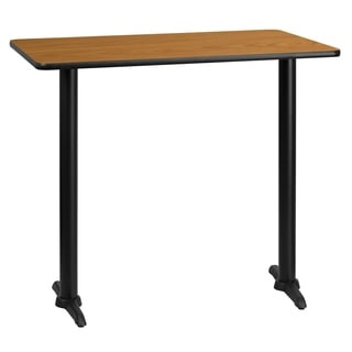 30x45-inch Rectangular Laminate Table Top with Base