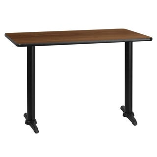 30x45-inch Rectangular Laminate Table Top with Table Height Base