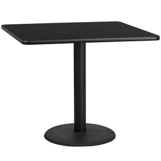 42-inch Square Laminate Table Top and Base