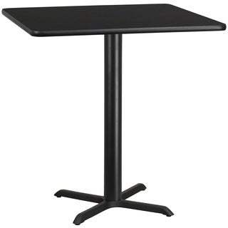 42-inch Square Laminate Table Top with Bar Height Base