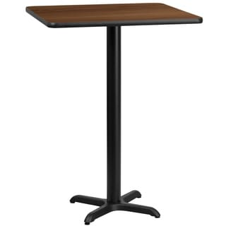Square Laminate Table Top with Base