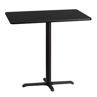 Rectangular Laminate Table Top with Base