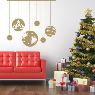 Christmas Ornaments Christmas Wall Decal