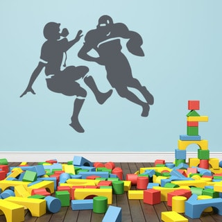 Football Tackle Sport Wall Decal