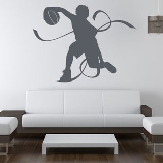 Basketball Player Sport Wall Decal
