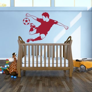 Soccer Star Sport Wall Decal