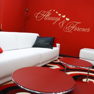 Always and Forever Love Wall Decal