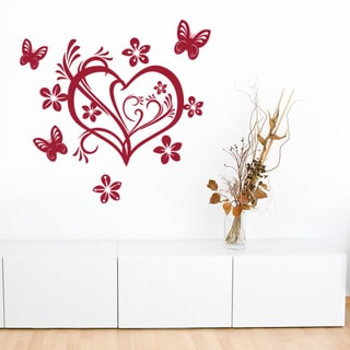 Valentine Heart Love Wall Decal