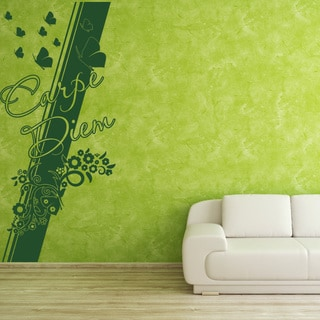 Carpe Diem Quote Phrases Wall Decal