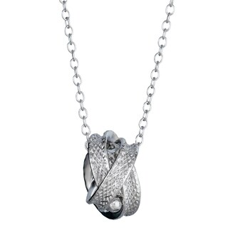 Decadence Sterling Silver Love Knot Necklace