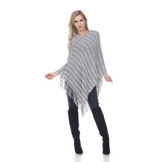 White Mark Women's 'Nixie' Poncho
