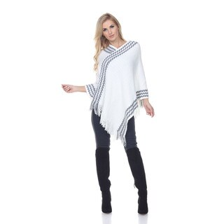 White Mark Women's 'Nevaeh' Poncho