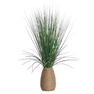 Laura Ashley 29-inch Grass & Twigs in Hemp Planter