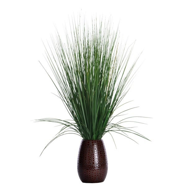 Shop 30 Inch Tall Grass With Twigs In Ceramic Pot On Sale Free Shipping On Orders Over 45