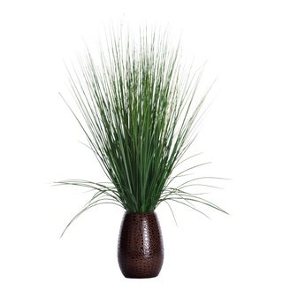 30 Inch Tall Grass With Twigs in Ceramic Pot