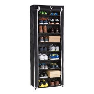 9 Tier Roll-up Shoe Closet