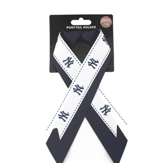 New York Yankees MLB Ladies Ponytail Holder With Ribbon