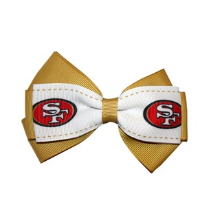 San Francisco 49ers NFL Officially Licensed Hair Bow Clip