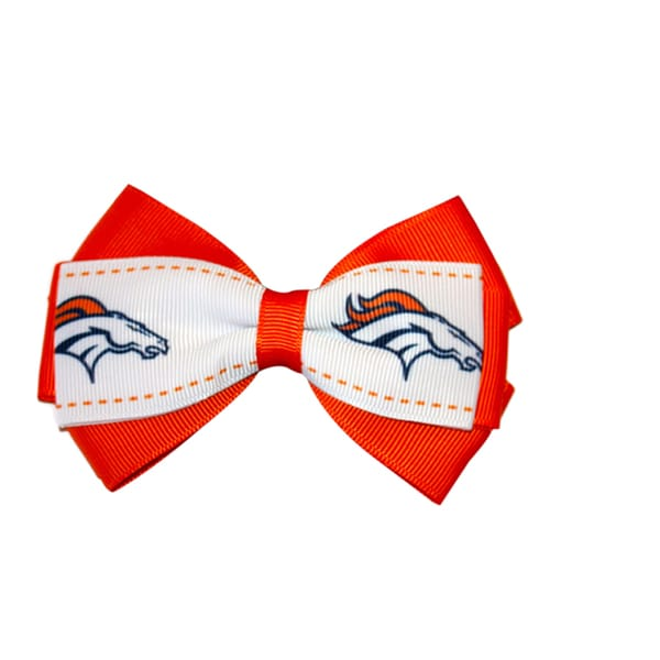Denver Broncos NFL Officially Licensed Hair Bow Clip