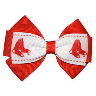 Boston Red Sox MLB Officially Licensed Hair Bow Clip