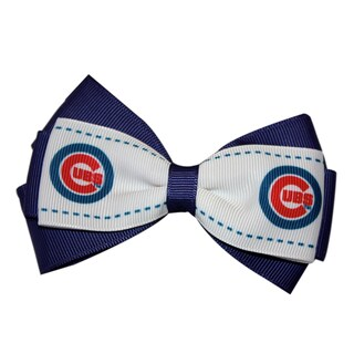 Chicago Cubs MLB Officially Licensed Hair Bow Clip