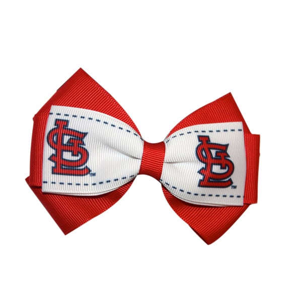 St. Louis Cardinals MLB Officially Licensed Hair Bow Clip