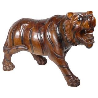 Handmade D-Art Tiger Statue (Indonesia)