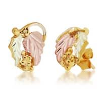 Black Hills 12k Gold Leaf Earrings