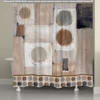 Laural Home Peaceful Balance Shower Curtain (71-inch x 74-inch)