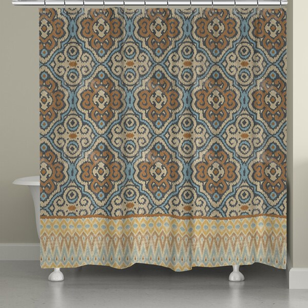Laural Home Persian Antique Shower Curtain 71 Inch X 74