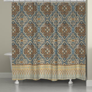 Laural Home Persian Antique Shower Curtain (71-inch x 74-inch)